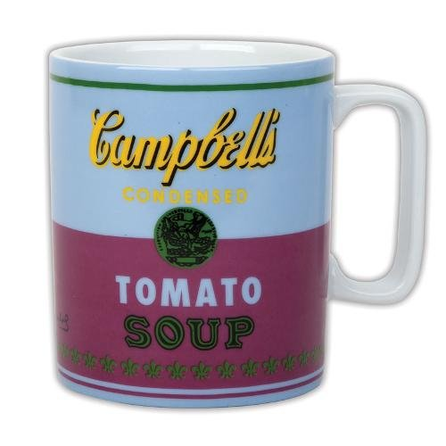 Galison - Andy Warhol - Mug - Campbell's Soup Can (1965) - Red and Violet ()