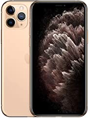 Apple iPhone 11 Pro (512GB, Gold) [Locked] + Carrier Subscription