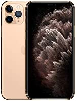 Apple iPhone 11 Pro (64GB, Gold) [Carrier Locked] + Carrier Subscription [Cricket Wireless] ($10/Month Amazon Gift Card...