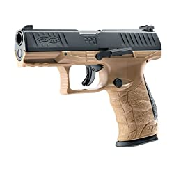 """T4E NEW Walther PPQ M2 (GEN2) the """"MOST REALISTIC"""".43cal CO2 Semi Auto Blow Back Paintball Pistol - FDE"""