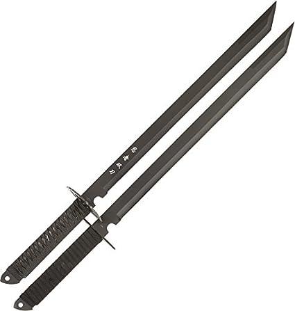 Amazon.com: BladesUSA HK-6183 - Espadas ninja gemelas, set ...