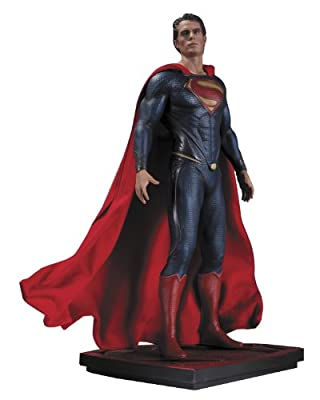 DC Collectibles Man of Steel Superman Iconic Statue, Scale 1/6