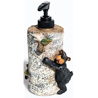 Willie Black Bear Liquid Soap Dispenser, 7
