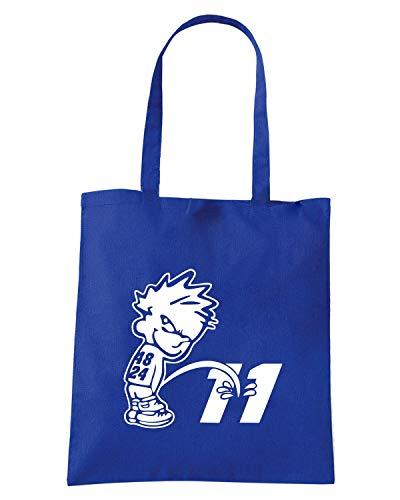 Borsa Shopper Royal Blu FUN0325 11
