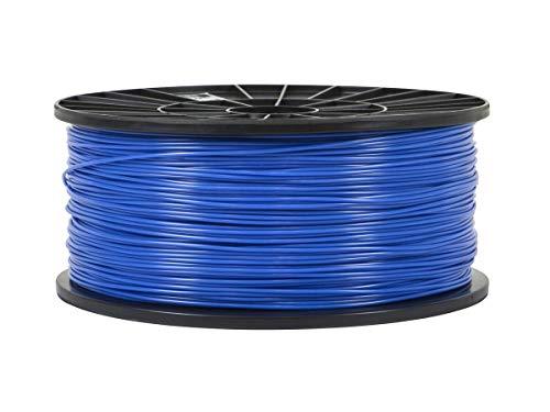 (Monoprice Premium 3D Printer Filament PLA 1.75mm 1kg/Spool Blue)