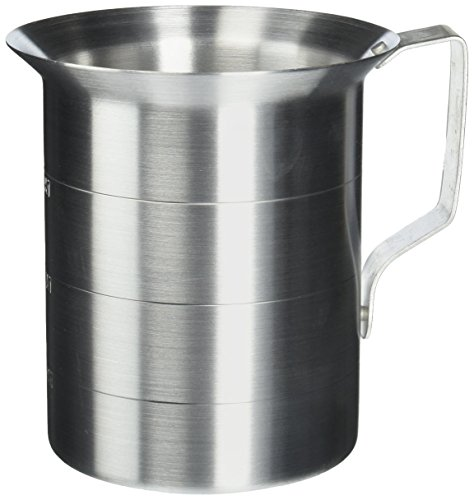Crestware 2-Quart Aluminum Liquid Measures (Aluminum Liquid Measure)