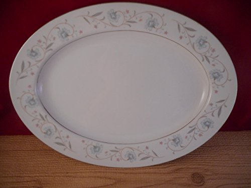 English Garden China 14 Inch Serving Platter Plate1221 Japan