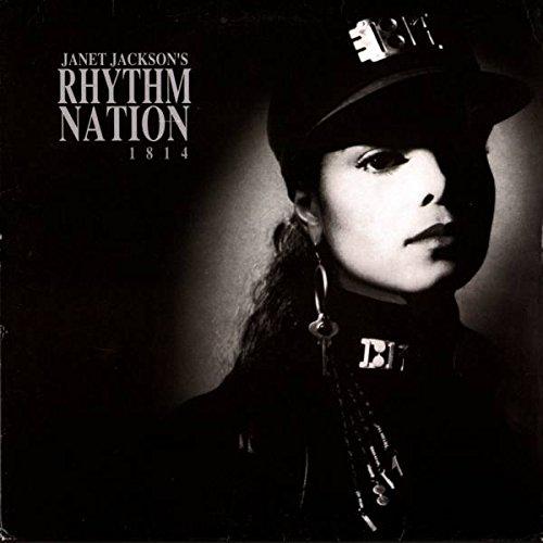 Janet Jackson - Janet Jackson's Rhythm Nation 1814 - A&M Records - AMA 3920, A&M Records - AMA3920