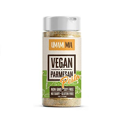 Umami Mia Vegan Parmesan (Pesto) (Parmesan Pesto)
