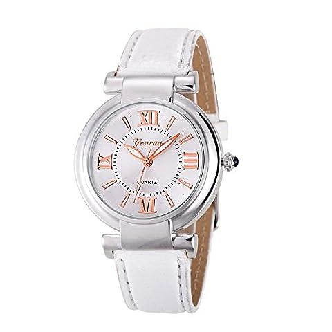 Relogio feminino Quartz Watch Women Girl Roman Numerals Leather Band Wrist Bracelet Watch Hot Selling Women watches Reloj (Reloj De Mujer Watches Invicta)