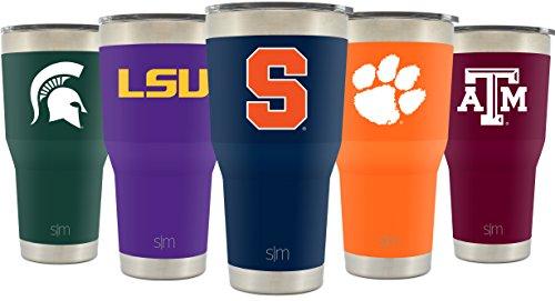 Simple Modern Syracuse University 30Oz Cruiser Tumbler   Vacuum Insulated Stainless Steel Travel Mug   Su Cuse Orange Tailgating Hydro Cup College Flask   University Color