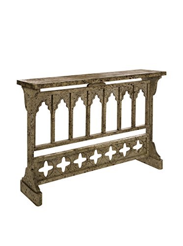 Measures 33.25 inches in height by 46.75 inches in width by 11.75 inches IMAX 47326 Prairie Console Table, Long (Tables Extra Console Long)