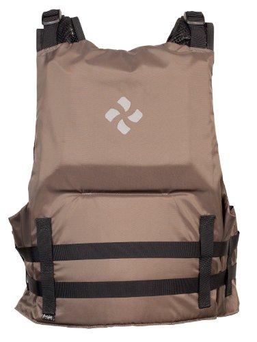 Extrasport Canoe (Extrasport Eagle Canoe/Kayak Rafting Fishing Personal Flotation Device/Life Jacket, Gun Metal/Black,)