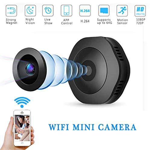 Mini Cámara De Deportes DV, Portable Magnética Cámara De Mano Que USA Al Aire Libre HD WiFi Cámara 1080P Flexible...