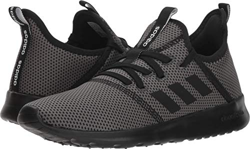 adidas Performance Women's Cloudfoam Pure Running Shoe, Black/Black/Grey, 6.5 M US