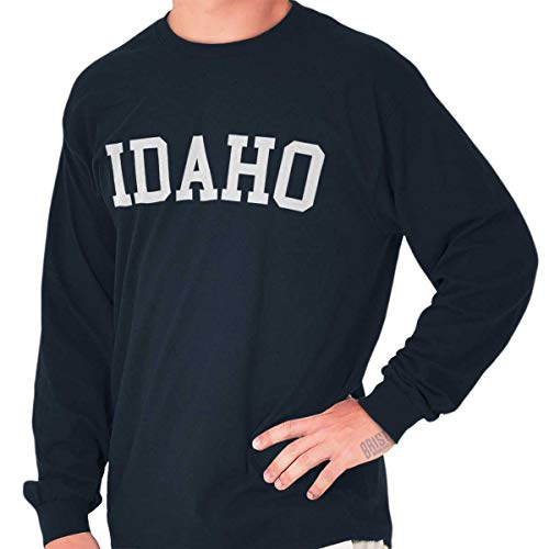 Idaho State Shirt Athletic Wear USA T Novelty Gift Ideas Cool Long Sleeve T