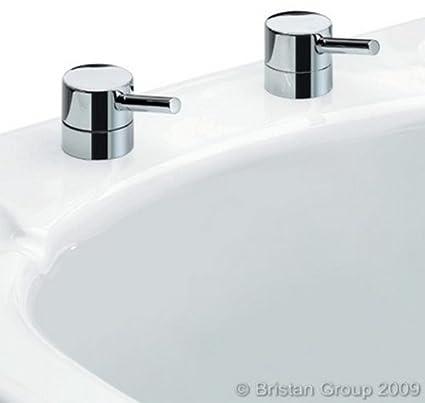 Bristan PM BSM C Prism Pillar Bath Shower Mixer