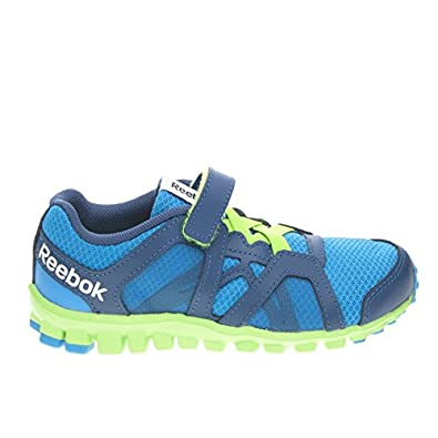 Reebok Realflex Train Rs 2.0 Alt - Zapatillas de Piel para hombre Azul Blu/Verde 27 2yd8BRE