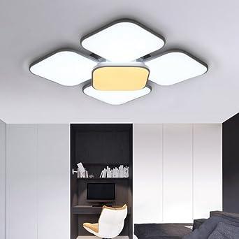 VINGO® 84W LED Deckenleuchte eckig Deckenlampe Deckenbeleuchtung ...