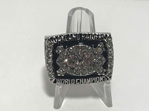 MVP Jim Plunkett #16 Los Angeles Raiders High Quality Replica 1980-81 Super Bowl XV Championship Ring Size 10.5-Silver US SHIPPING