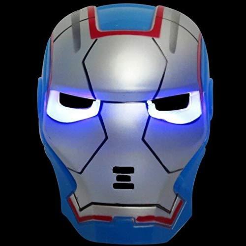 HOLLUK Led Glowing Super Hero Mask The Man