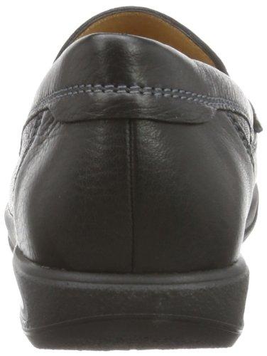 Ganter Gerome Weite G - Mocasines Hombre Negro (Schwarz (schwarz 0100))