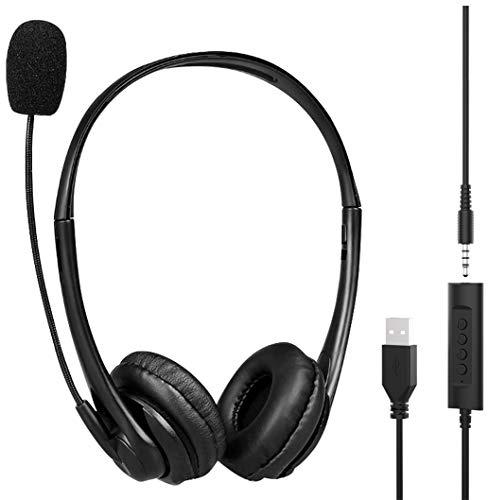 🥇 KKSH Auriculares Micrófono PC