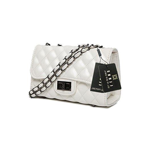 Women Handbag New 20X8X14CM Female Handbags Package Handbag Bag 2018 Messenger Ladies Cc SHRJJ Wave For Bag wT1fCqSx