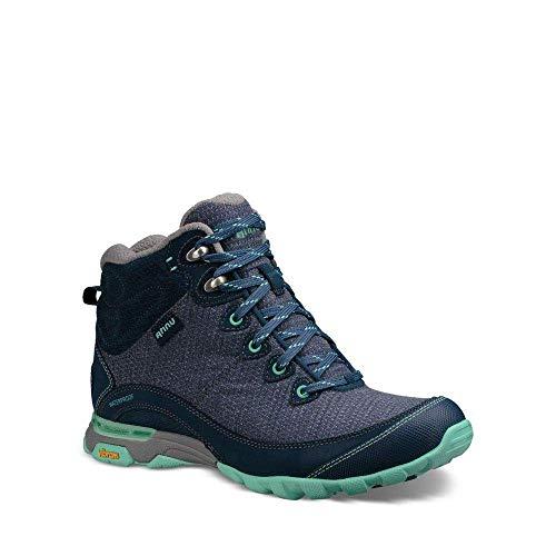 Image of Ahnu Women's W Sugarpine II Waterproof Hiking Boot, Insignia Blue, 6 Medium US