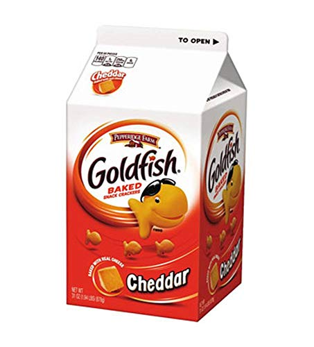 Pepperidge Farm Cheese Flavor Goldfish Crackers, 31-Ounce Units (Pack of 6) by Pepperidge Farm (Image #1)