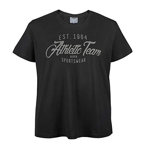 shirt Noir T Ahorn Imprimé Xxl pwq5qv1