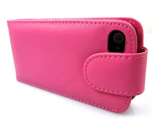 Apple iPhone 6/6s Hot Pink Flip Premium PU Leather Case Cover For Apple iPhone 6/6s by G4GADGET®