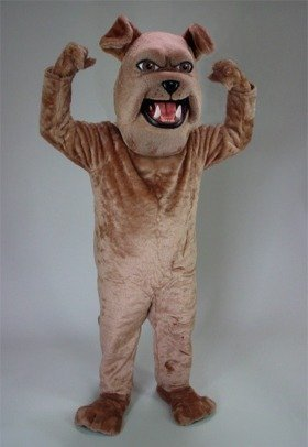 Sparky Bulldog Mascot Costume ()