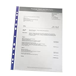 Leitz Premium A4 Clear Pockets Pack of 25 - ref 47185