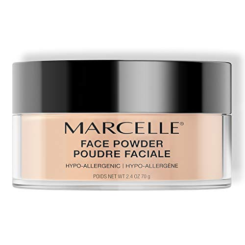 Marcelle Face Powder, Translucent, Hypoallergenic and Fragrance-Free, 2.4 oz