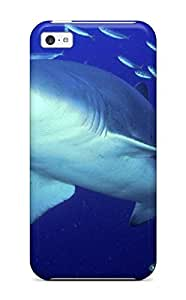 fenglinlin3554740K62095011 Faddish Phone Predator Sand Tiger Shark Case For iphone 5/5s / Perfect Case Cover