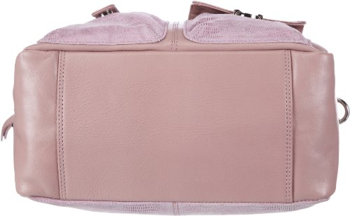 Bodenschatz Modena 4-002 MD 28, Damen Henkeltaschen 29x22x14 cm (B x H x T) Pink (Rose)