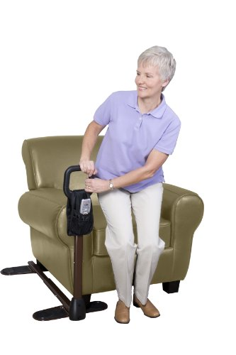 Lift Assist Chair - Stander CouchCane -  Ergonomic Safety Support Handle + Adjustable Living Room Standing Aid for Chair Couch & Lift Chair + Organizer Pouch