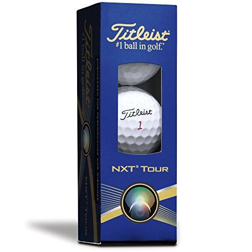 - Titleist NXT Tour Sleeve of 3 Golf Balls