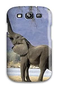 High-quality Durability For Case HTC One M7 Cover(elephant For Walls )