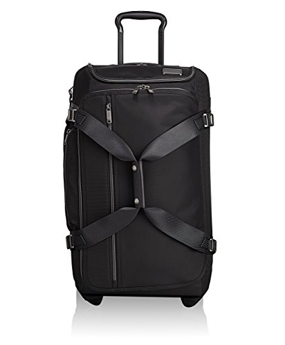 TUMI - Merge Wheeled Duffel Packing Case Medium Suitcase - Rolling luggage for Men and Women - Black Contrast