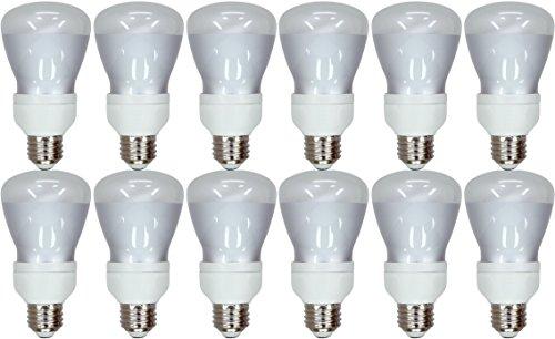 Set of 12 GE Lighting 24691 Energy Smart CFL 11-Watt (45-watt replacement) 400-Lumen R20 Floodlight Bulb with Medium (11w R20 Compact)