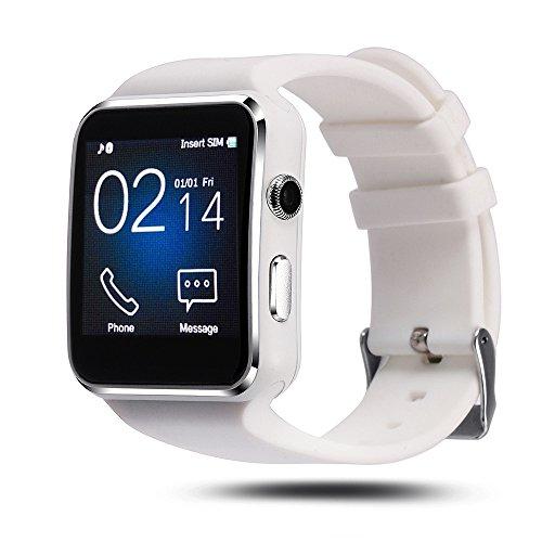 Aipker Smartwatch Phone with SIM TF Card Slot Camera for ...