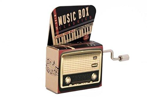 SWAN LAKE Mini Mechanical Crank Music Box