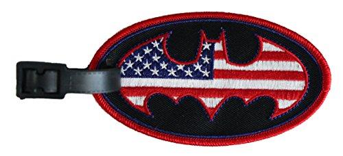 Luggage Tag Dc Comics Batman US Logo Novelty
