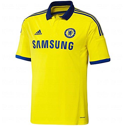 Adidas Chelsea Away Jersey [BYELLO/CHEBLU] (XL) ()