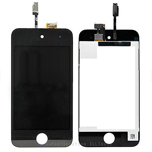 ePartSolution_LCD Display Touch Screen Digitizer Assembly for iPod Touch 4th Gen iPod Touch 4 Replacement Part USA Seller (Black)
