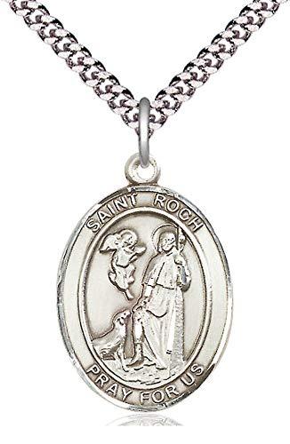 St. Roch Medal in Fine Pewter, 1