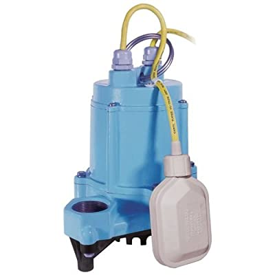 Little Giant 506600 50 GPM Automatic Submersible High Temperature Effluent Pump,