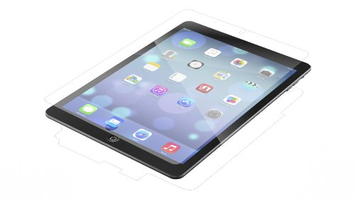 ZAGG InvisibleShield Original Full Body Screen Protector for Apple iPad Air - Wet Apply